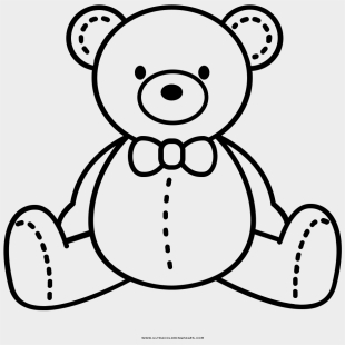 teddy bear art navy