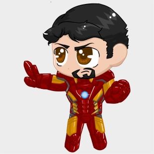 Little Iron Man Iron Man Chibi Png Cliparts Cartoons Jing Fm