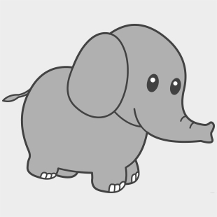 Elephant Clipart Template Elephant Clip Art Transparent Cartoon Jing Fm