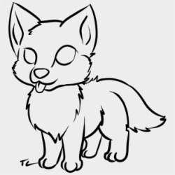 Drawn Galaxy Paint Splatter Galaxy Cute Wolf Drawings Transparent Cartoon Jing fm