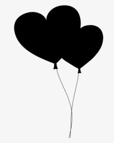 Heart Png Black : heart, black, Black, Heart, Images,, Transparent, Download, KindPNG