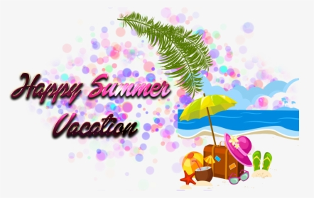 Happy Summer Vacation Png Photo Background Summer Cartoon Vector Png Transparent Png Kindpng