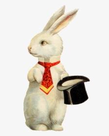 Funny Easter Bunny Transparent Background