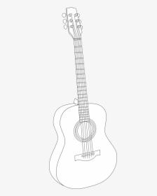 Guitar Drawing Outline : guitar, drawing, outline, Guitar, Drawing, Images,, Transparent, Download, KindPNG