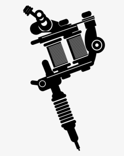 Tattoo Machine Png : tattoo, machine, Tattoo, Machine, Silhouette, Vector,, Download, Kindpng