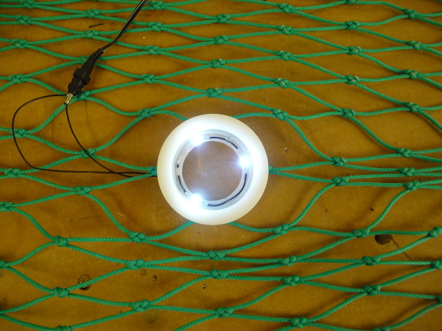 Dan Watson's LED fish net SafetyNet design / Ocean Great Ideas
