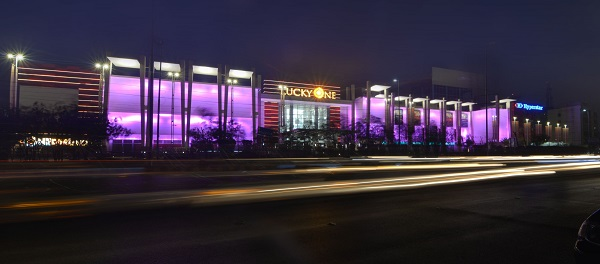 Attention Shoppers Dazzling LED Makeover for Karachis