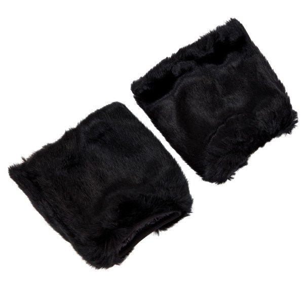 Fluffies Furry Leg Warmers