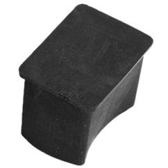 Chair Leg Caps Woven Outdoor Rubber Pvc Covers Protector End 20mmx30mm