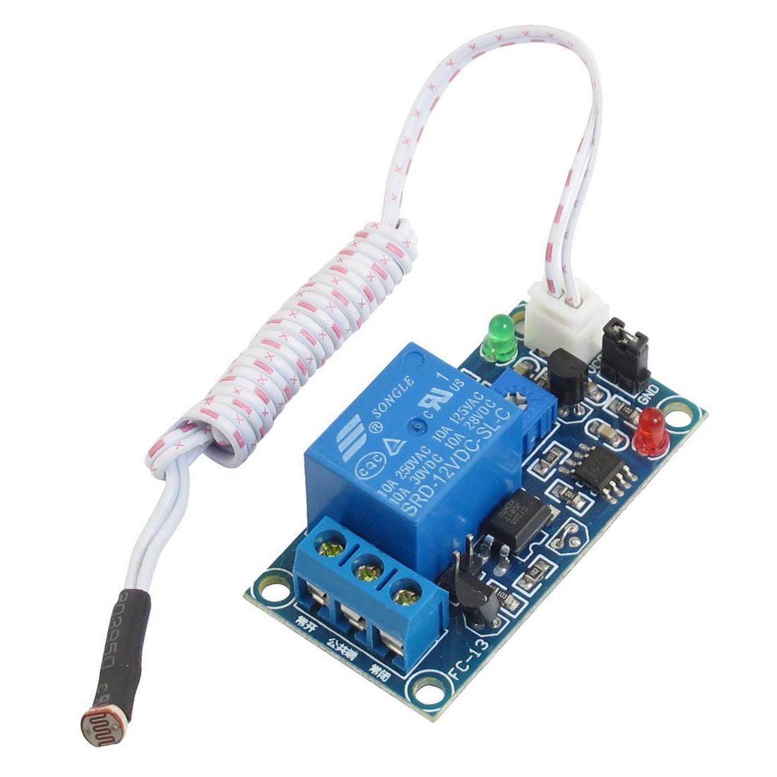 Light Relay Switch Circuit