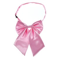 Pink Women Adjustable Pure Color Women's Bow Tie H2J1 | eBay