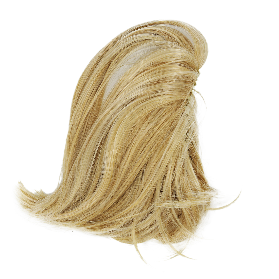 Short Ponytail Hair Extensions Synthetic Hair Wavy Claw