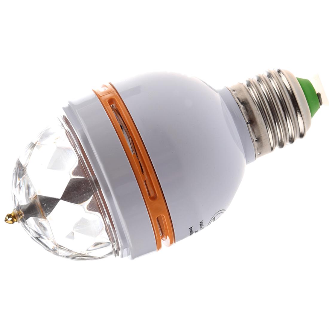 DJ Lamp 3W E27 Full Color LED Crystal Voice