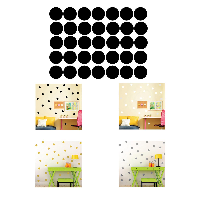 Polka Dots Wall Sticker Baby Nursery Stickers Kids