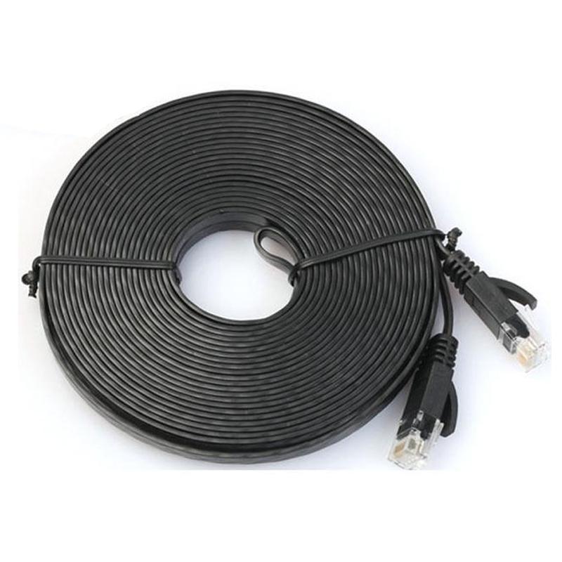 Network Cable Rj45 Lan Patch Lead Flat Cat6 Ethernet Modem