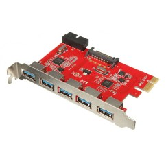 5 Pin Pci Express Adapter Owl Butterfly Diagram Card Ports E Usb 3 Hub 20 15pin Sata