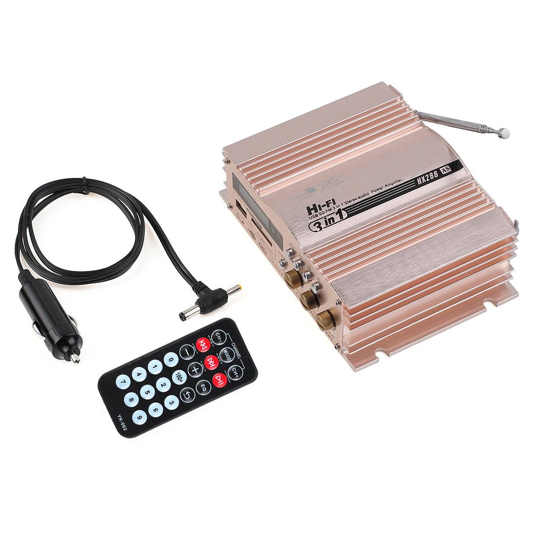 2 channel stereo amplifier 81 virago wiring diagram 360w 12v hi fi car fm radio mp3