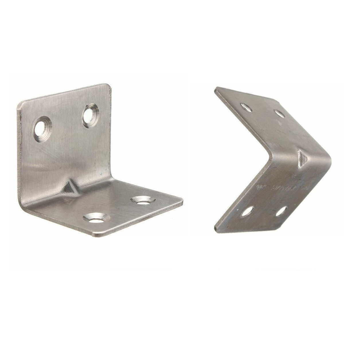 chair steel bracket home theater chairs canada 30mm x stainless kitchen right angle corner