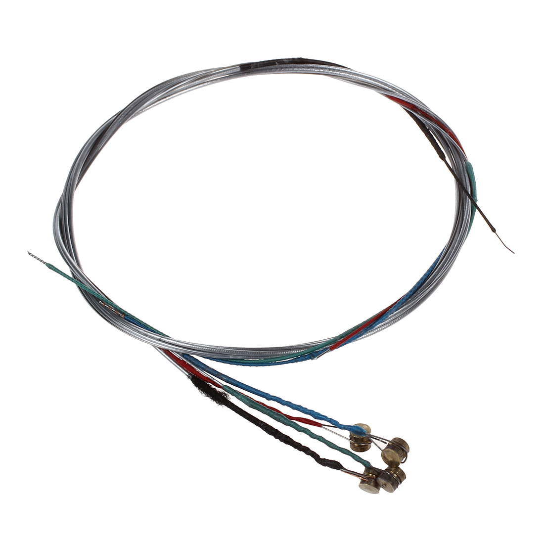 1 Set of 3/4 4/4 Violin Strings Steel Core GDAE Ball Head TS