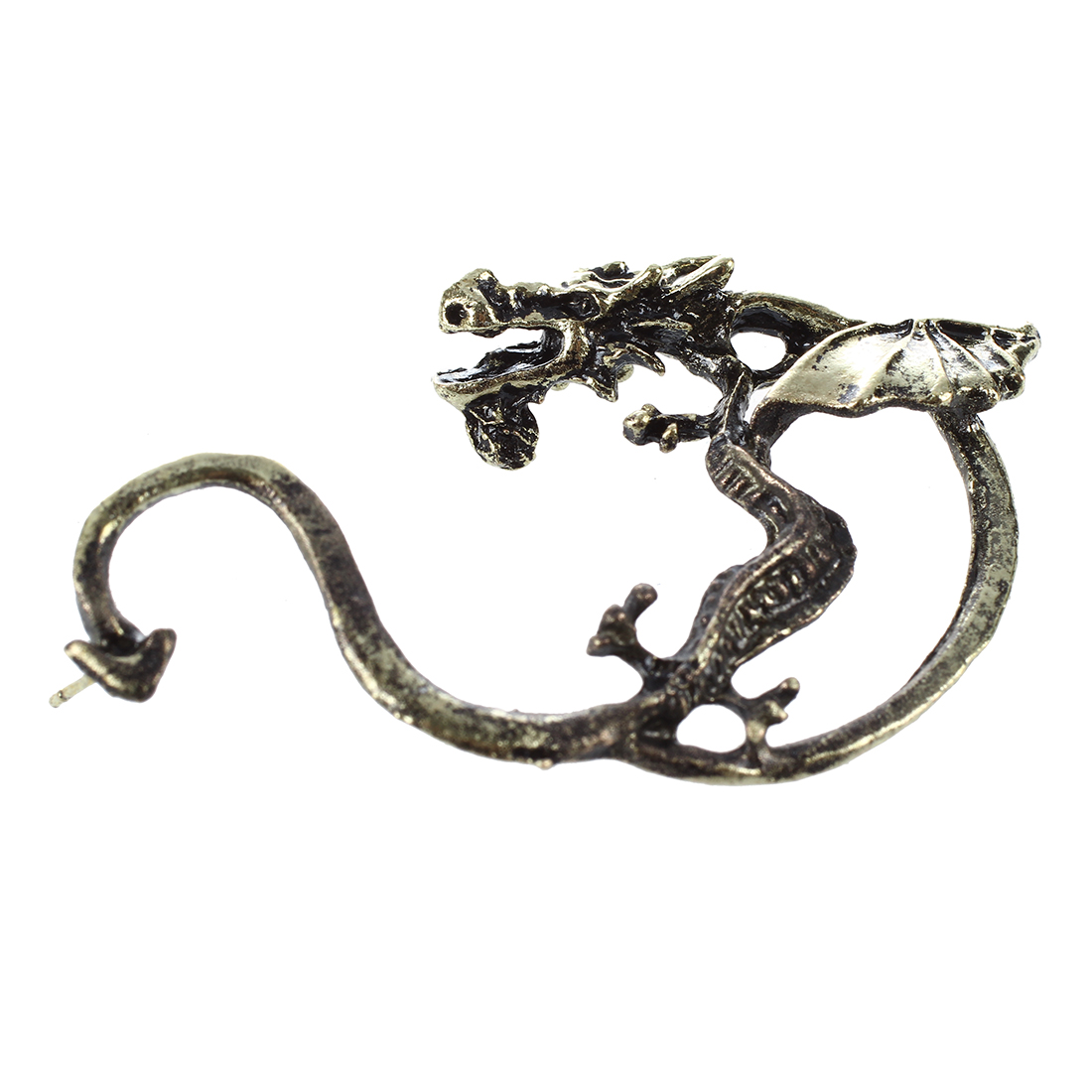 W2N9 5X Dragon Ear Wrap Cuff EarRing Stud Earrings Punk