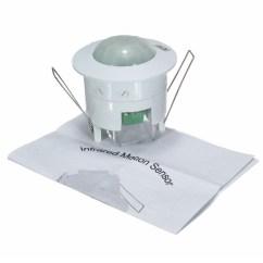 Motion Sensor Kenmore Gas Dryer Wiring Diagram 360 Degree Recessed Pir Ceiling Occupancy Body Infrared