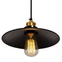 2X(Garage Metal Ceiling Light Vintage Retro Chandelier ...