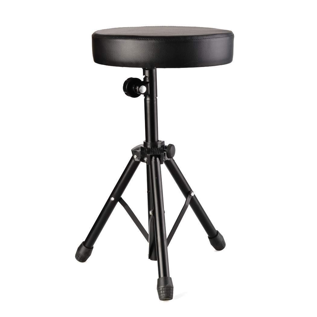 Drum Chair Professional Padded Drum Throne Seat Stool Stand Drumming
