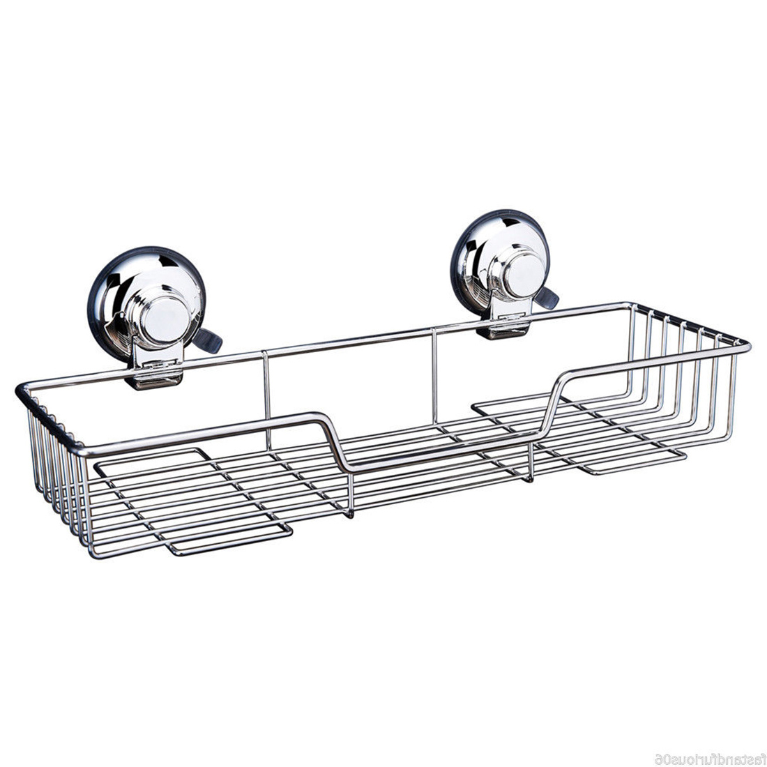 Stainless Steel Bathroom Shower Shelf Wire Basket Storage