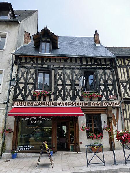 La Maison Rue Des Dames : maison, dames, Maison,, Dames, Aubigny-sur-Nère, PA00096643, Monumentum