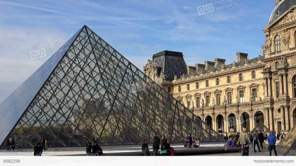 Famous Art Museum in Paris France
