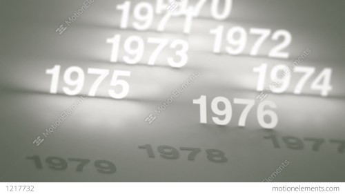 small resolution of glowing numbers timeline 1970s 1980s and 1990s stock video footage