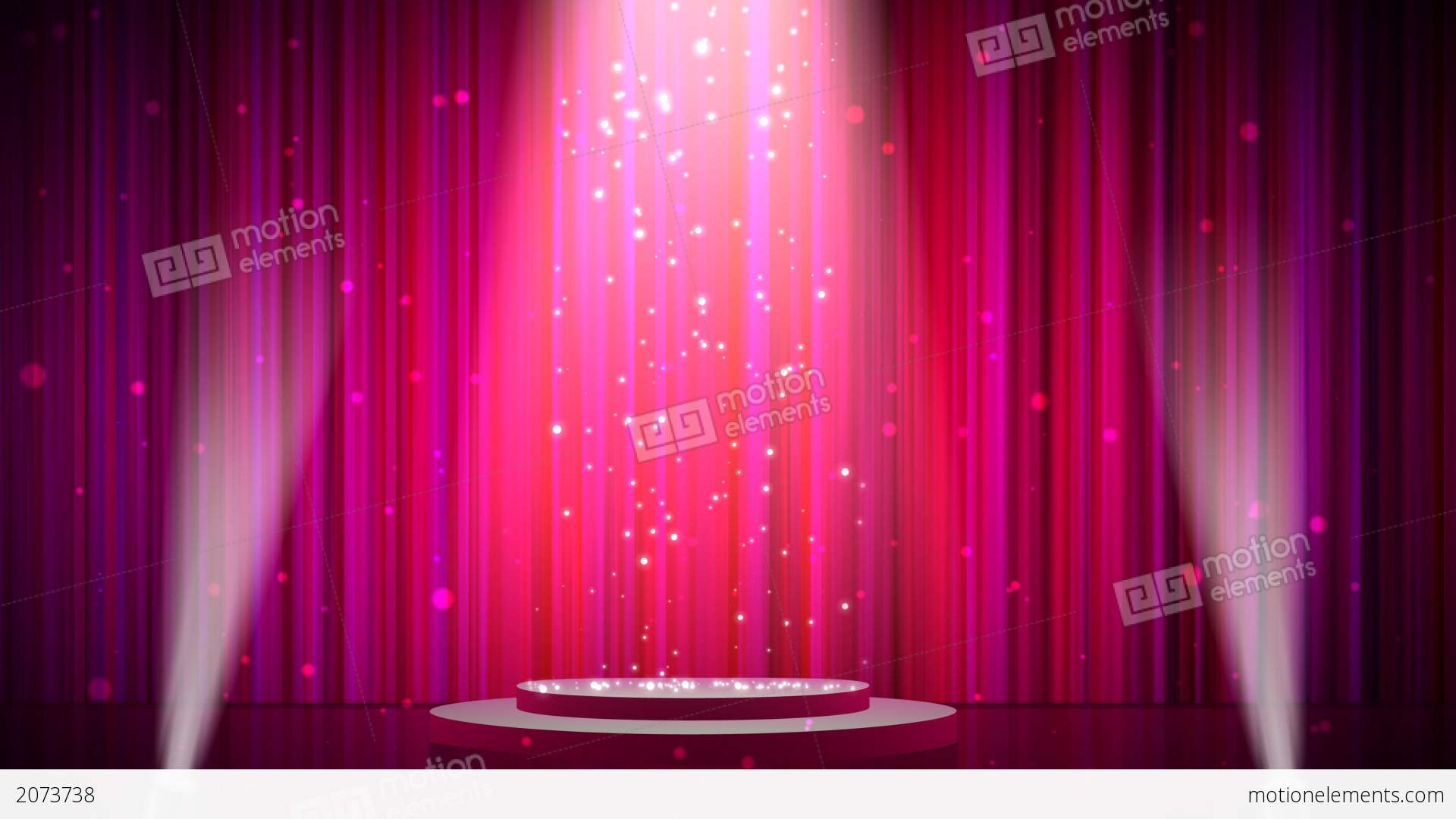 Stage Show HD Stock Animation 2073738