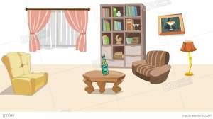 cartoon living earthquake animation backgrounds