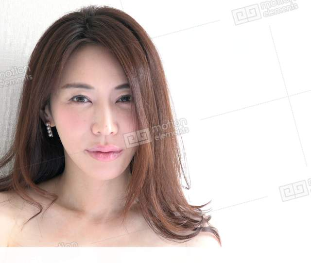 Sensual Asian Woman Smiling At Camera Portrait Of Stock Video Footage