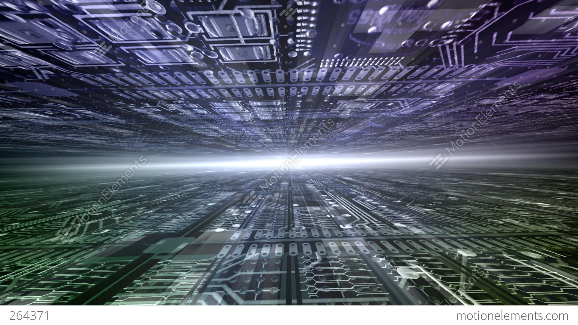 Future Tech Space 2 Dg Stock Animation