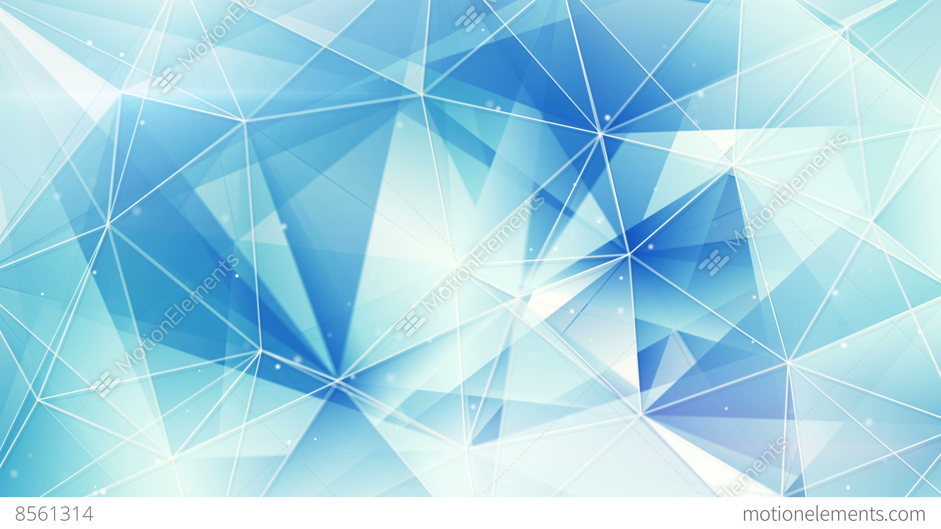 Blue And White Triangles Web Pattern Loopable 4k 4096x2304 Stock Animation  8561314