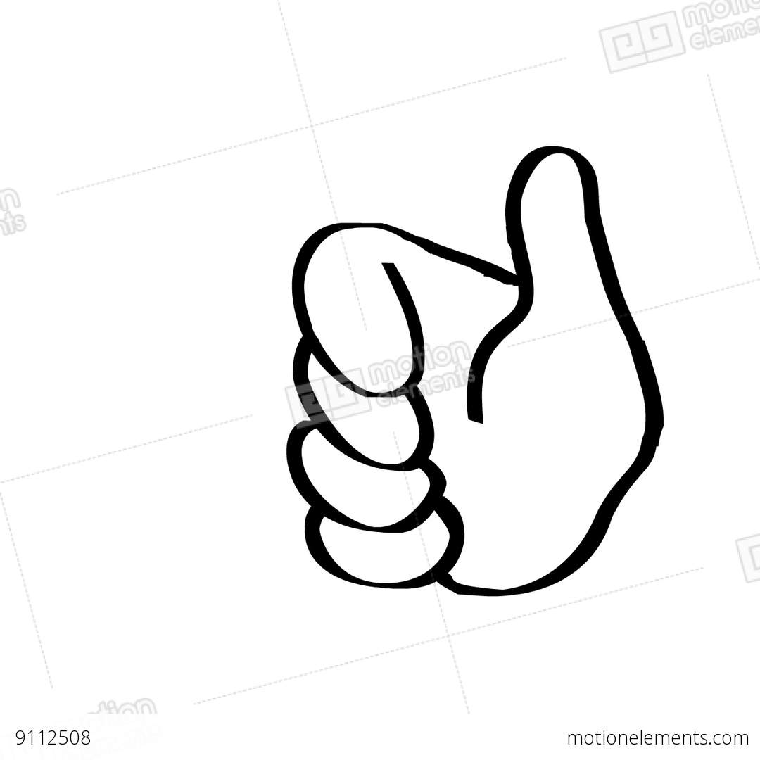Thumbs Up Stock Animation