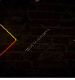 arrows yellow neon light stock video footage [ 1920 x 1013 Pixel ]