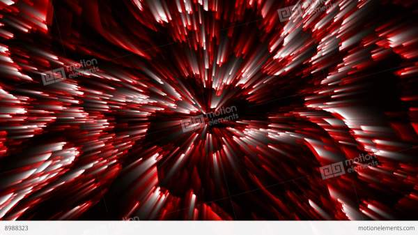 Red Vj Dj Loops Abstract Background Animation Stock Video