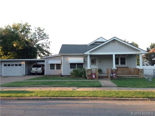 1009 W 7th St, Okmulgee, Ok 74447  Home For Sale And Real