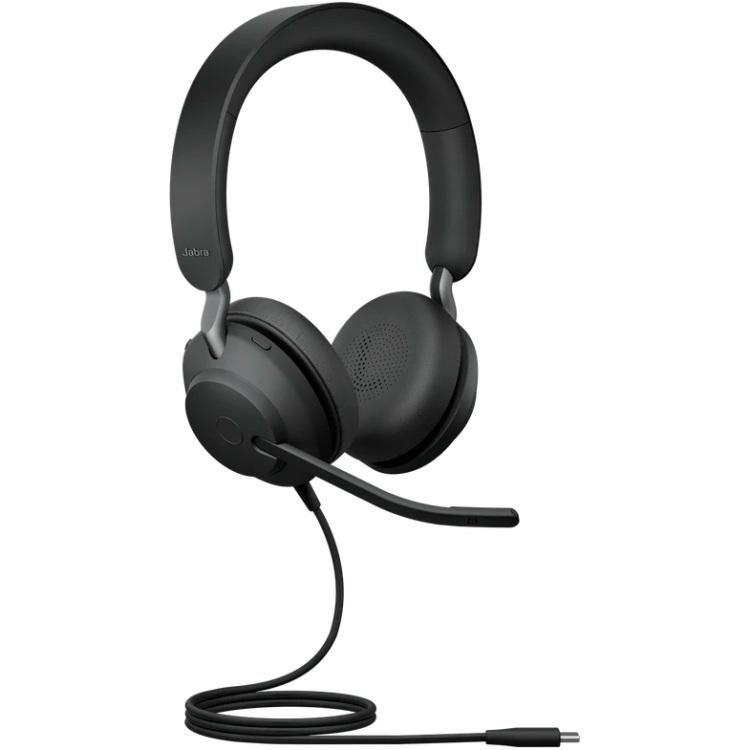 Jabra Evolve2 40 headset USB-A, Unified Communication