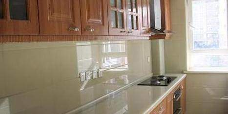 kitchen countertop decor cabinets columbus 厨房台面到底大理石好还是石英石好 后悔我家贪便宜选错了 厨房台面装饰