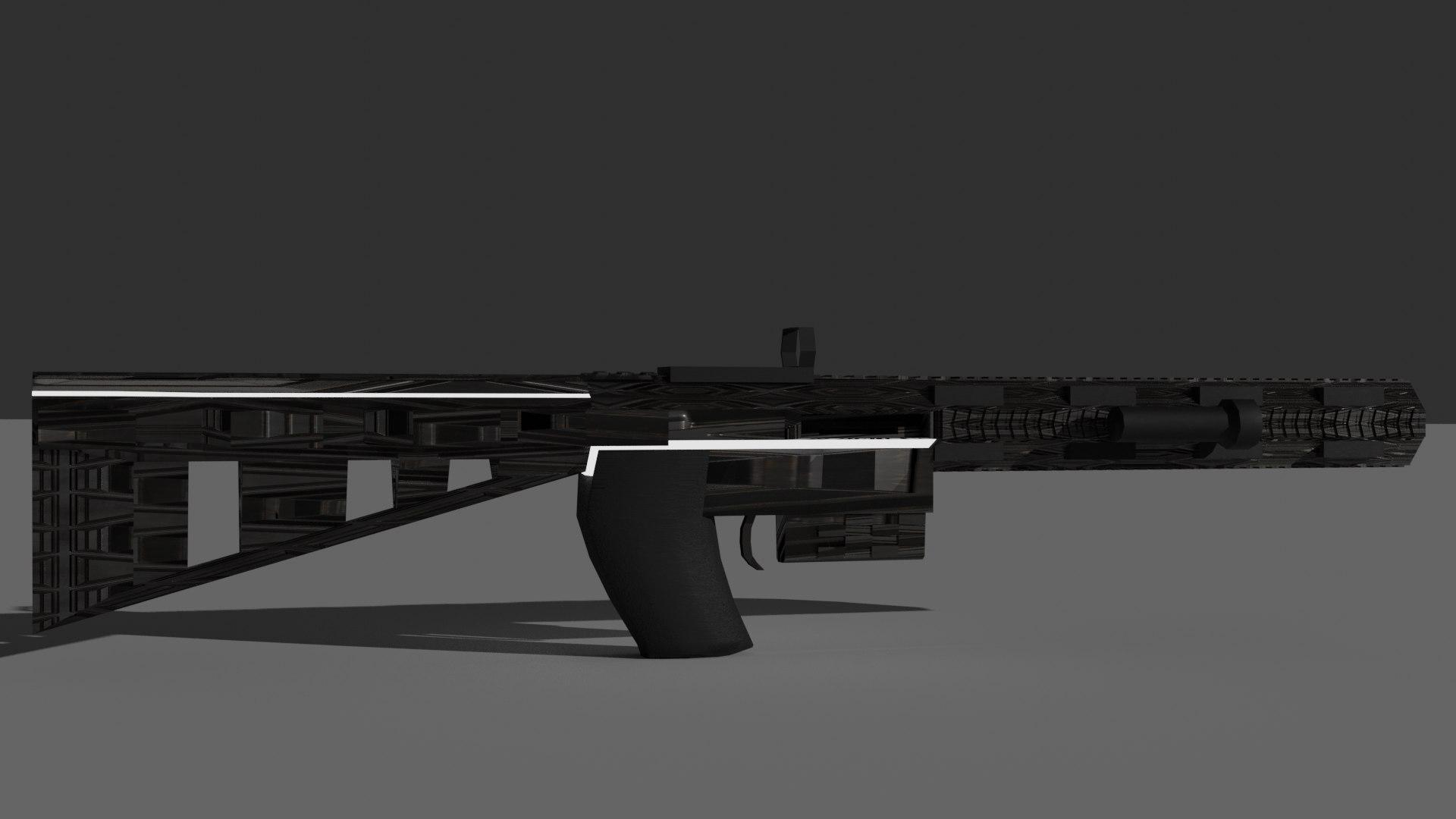 Blender gun games weapon 3D model - TurboSquid 1651532