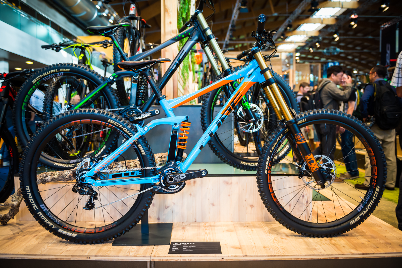 2016 Cube TWO15 HPA SL 275  2016 Downhill Bikes at