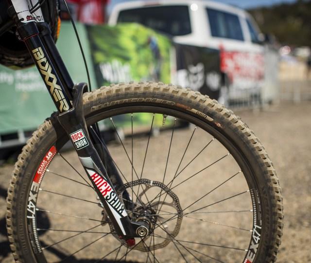 Rockshox Boxxer World Cup On Troy Brosnans Specialized Enduro Expert Evo Winning Bike Troy Brosnans Specialized