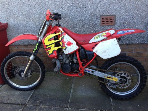 small resolution of started new thread 1989 cr 250 restoration 5 9 2015 10 28pm