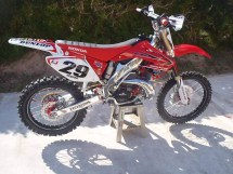 2003 Honda Cr250 Graphics Kit - Year of Clean Water