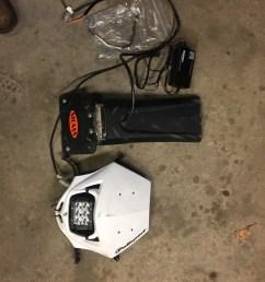 headlight tail light kit yamaha dirt bike [ 900 x 1200 Pixel ]