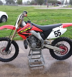 package deal 2003 honda cr250 with 2001 cr250 engine 2001 roller 2003 engine parts 3500 [ 1600 x 1200 Pixel ]