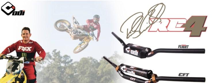 ODI Releases Ricky Carmichael Signature Handlebar